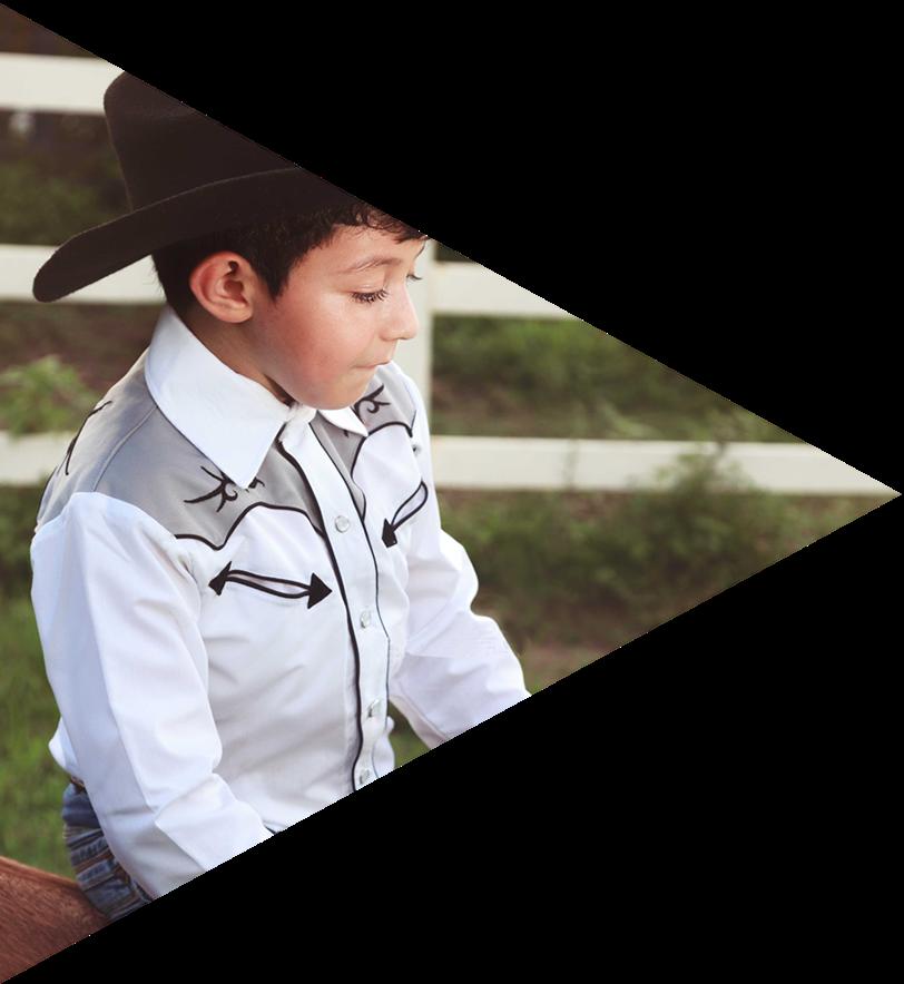 2017 polo de Los Muchachos camisa con corbata de lazo del